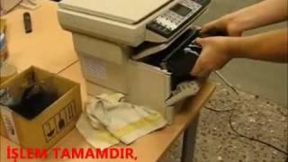 KM-1500/FS-1030/FS-1118  Atık Toner Boşaltma Eğitim Filmi - ofismaks.com