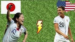 Japan 5:3 USA n. Elfmeterschießen | World Cup Final | Gerechtes Ergebnis nach Penalty schießen?