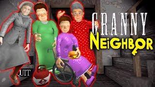 СРАЗУ ЧЕТЫРЕ ДОБРЫЕ БАБУЛИ ГРЕННИ СОСЕД - Scary Neighbor Granny Escape
