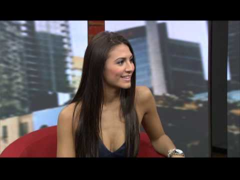 2013 Juno Nominee Kristina Maria visits CP24 Breakfast