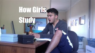 How Girls Study