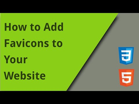 Adding Favicons To Websites