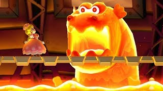 New Super Mario Bros U Deluxe - All Castle Bosses