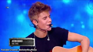 """Gambar cover Justin Bieber """"One time"""" Live in Malaysia"""