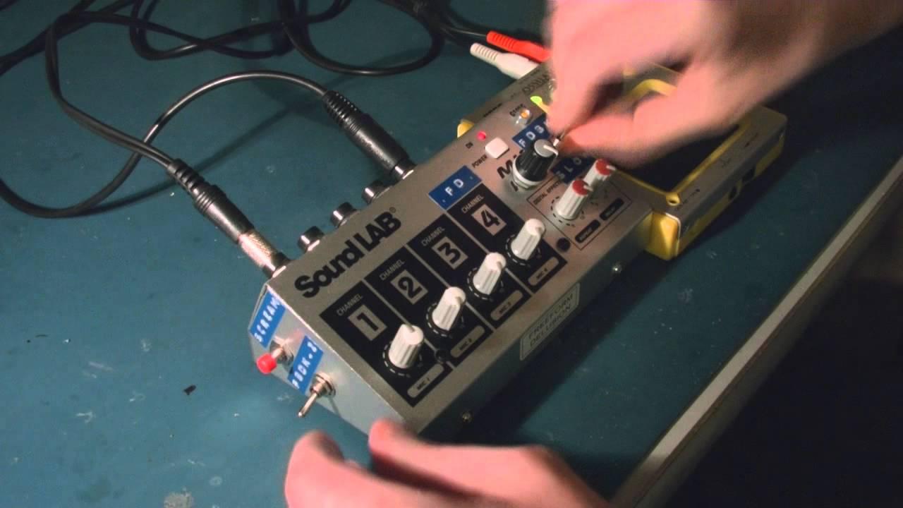 medium resolution of circuit bent sound lab micro echo mixer g105c by freeform latch circuit diagram self latching relay circuit diagram