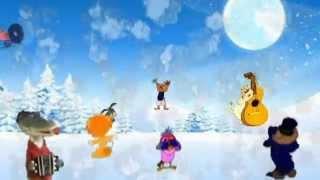 Снежок, снежок на улицце идет. Музыкальный клип. ДМК