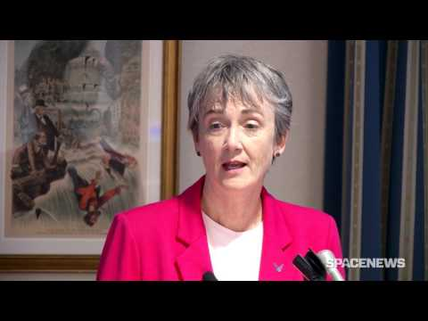 U.S. Air Force Secretary Heather Wilson outlines military sp