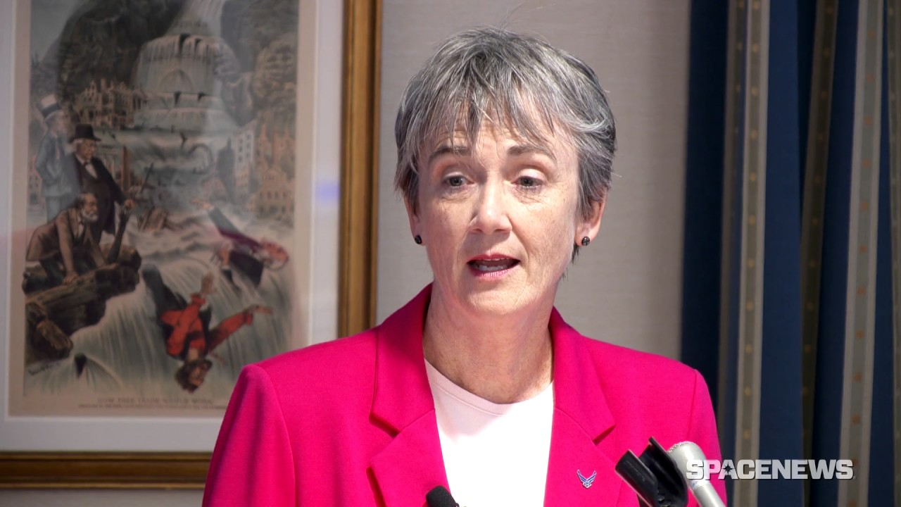 U.S. Air Force Secretary Heather Wilson outlines military space ...