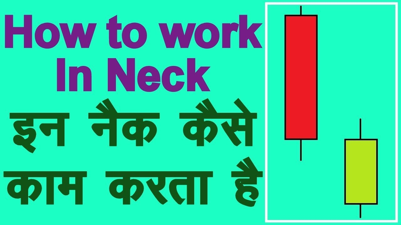 How to use in neck bearish continuation candlestick pattern hindi technical analysis also rh youtube