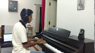 Main Tenu Samjhawan Ki - Piano Cover | Anirudh Das