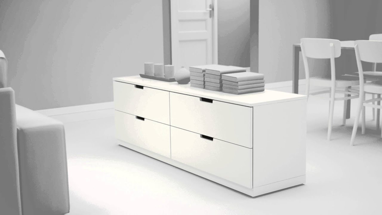 nordli moderne kommoder i h j kvalitet youtube. Black Bedroom Furniture Sets. Home Design Ideas