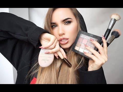 Как правильно наносить макияж смотреть видео