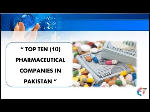 TOP TEN PHARMACEUTICAL INDUSTRIES OF PAKISTAN |YOU SHOULD KNOW|