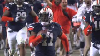 Auburn Alabama Iron Bowl Kick Six Goes Epic Youtube