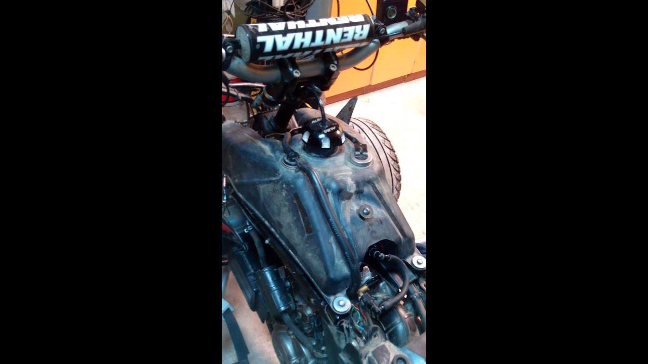 Suzuki LTR 450 problem  YouTube