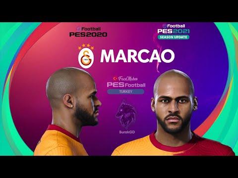 PES 2021 MARCAO Face by  PES Football TURKEY
