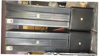 BHARAT ELECTRONICS BEST DJ SYSTEM CA20-6000W 2 TOP 5FT TRIPLE SPEAKER 2-S18 INCH BASS