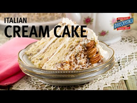 How to make Italian Cream Cake Recipe