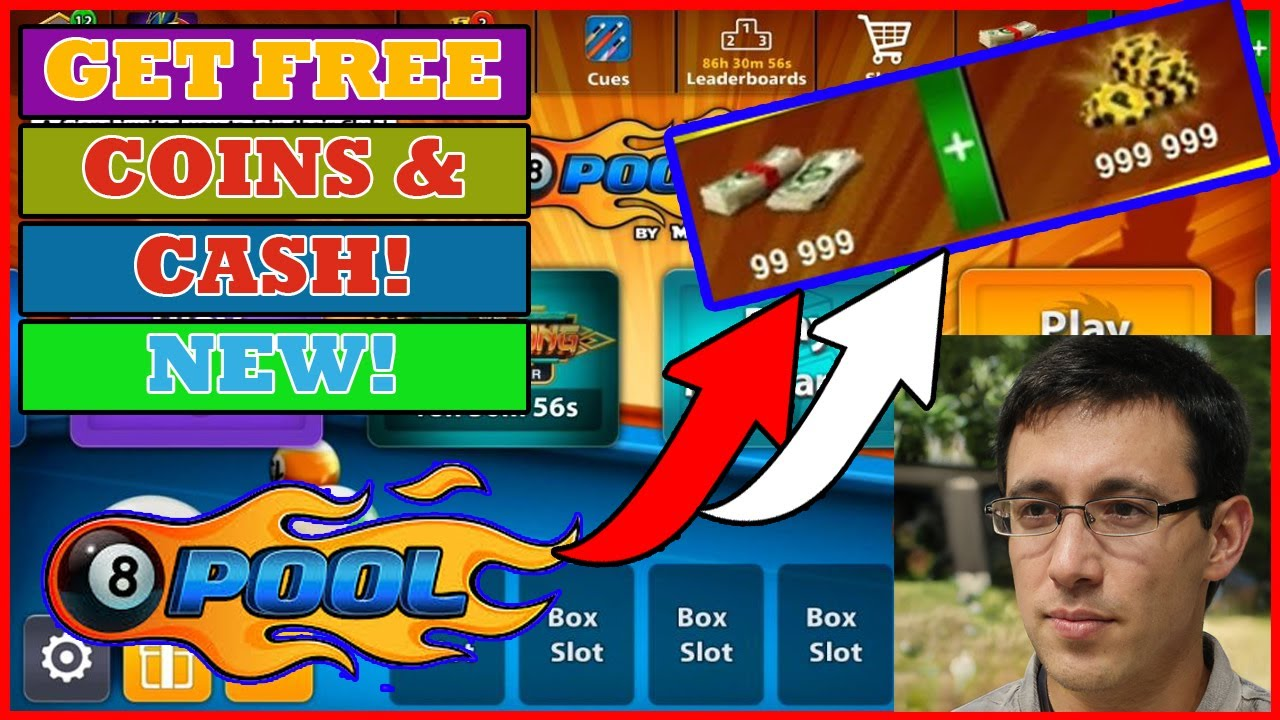 8 Ball Pool Hack - Cash Coin Hack - Updated! New 2019 -