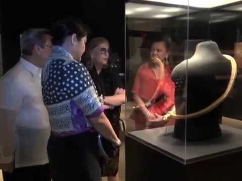 Famous personalities, billionaires attend PH gold exhibit