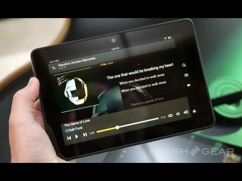 Kindle Fire HDX 7 First Look: Amazon's 3rd Generation Tablet is Here!