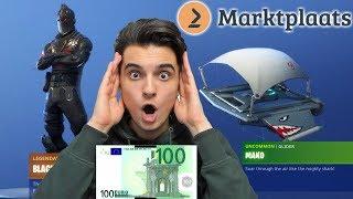 OG ACCOUNT COOKED VOOR €100 OP MARKTPLAATS (GIVEAWAY) | Fortnite