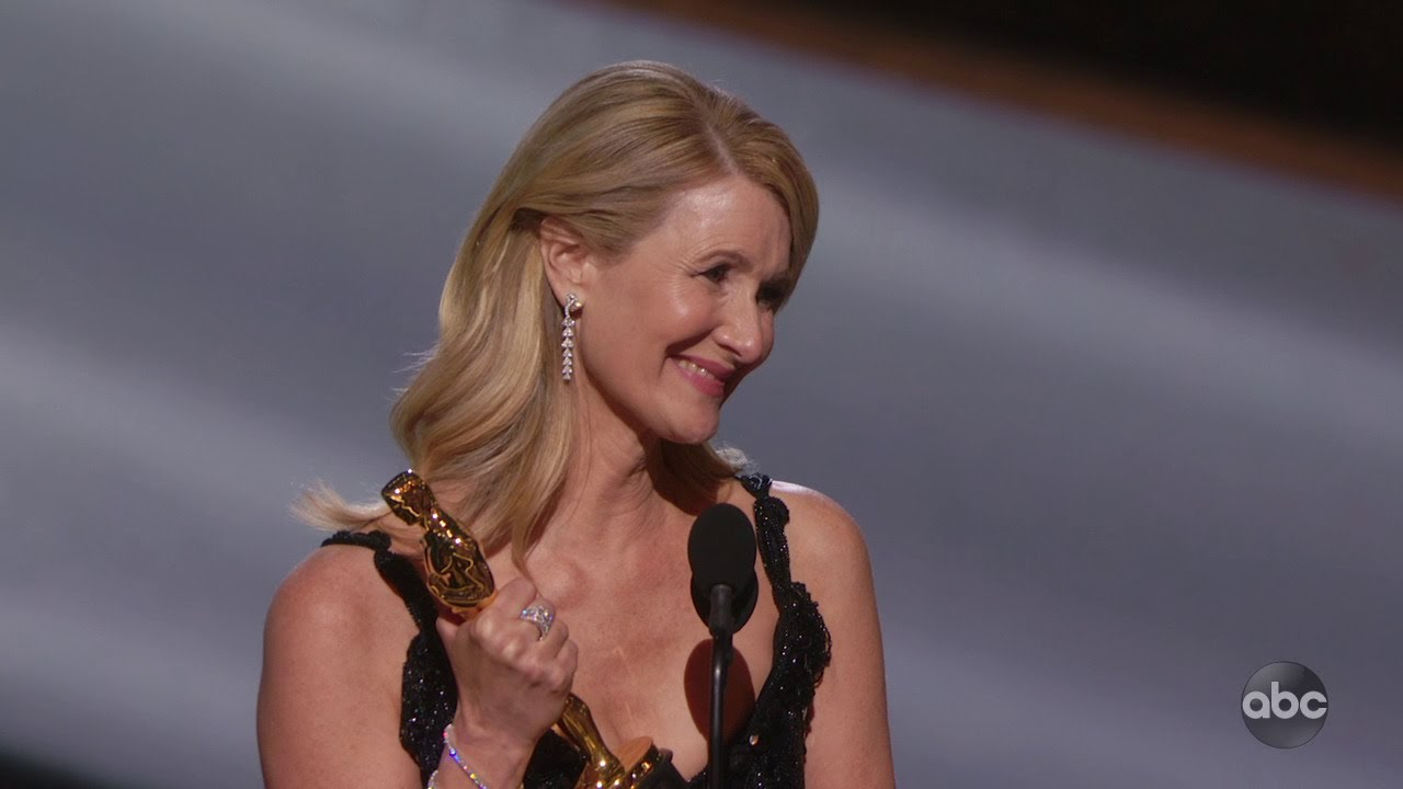 Laura Dern wins best supporting actress Oscar for 'Marriage Story'