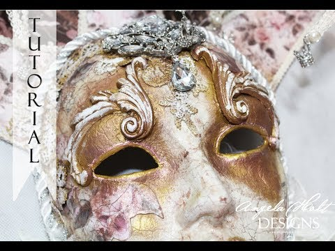 Venetian Mask Tutorial Part 3 of 3 FOR SALE IN ETSY