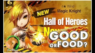 SUMMONERS WAR : Lupinus the Wind Magic Knight Hall of Heroes - Good or Food?