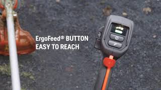 Husqvarna Battery Brushcutter 535iRXT - Clear User Interface for Easy Operation