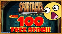 OMG 😮 OVER 100 FREE SPINS!!