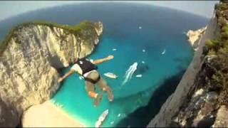 Base jump à la baie du naufrage