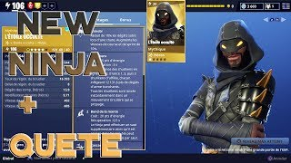 MYTHICAL NEW NINJA - QUETES - KILLING TEST!! - FORTNITE SAUVER THE WORLD