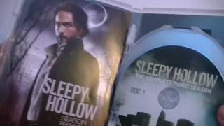 Présentation (unboxing) du coffret DVD Sleepy Hollow season 3