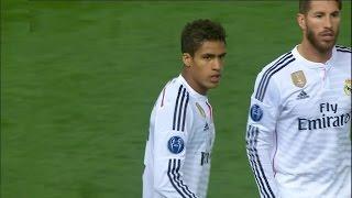 Rafael Varane vs Atletico Madrid 14 04 2015