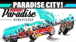 BURNOUT PARADISE Remastered Let's Play Deutsch #1 – Willkommen, Paradise City! | 4K Gameplay German