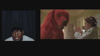 Clifford the Big Ręd Dog 2021 Official Trailer Paramount Pictures REACTION