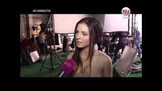 Сюжет RU.TV о съемках клипа Нюши