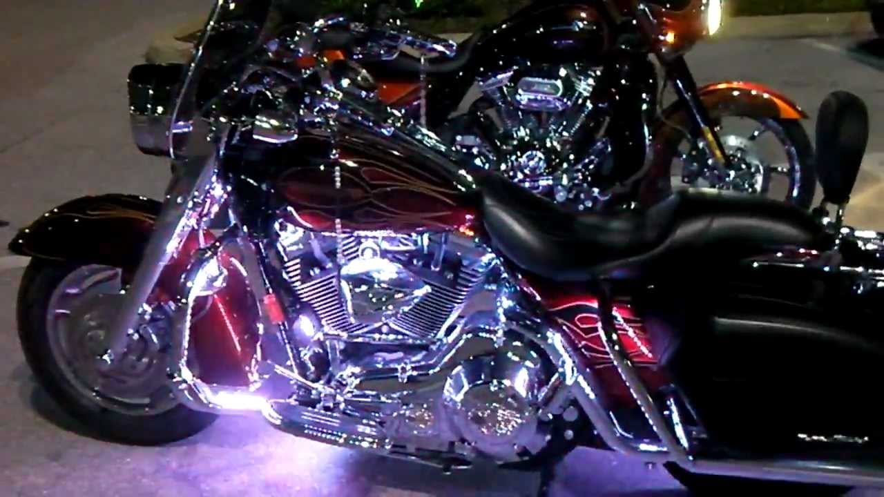 Antique lighting kings road : Fusion big show led lights on road king