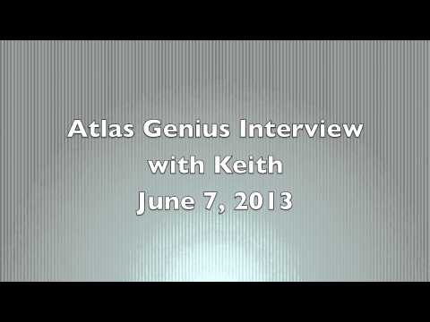 Atlas Genius Interview 2013