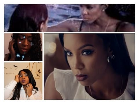 Kelly Rowland- Dirty Laundry (Exclusive) 2013 OFFICIAL  Music Video  (inspired makeup lookl)