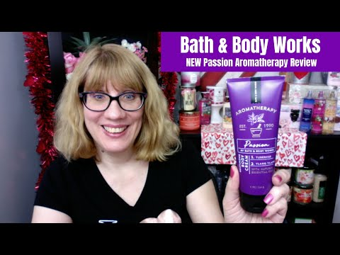 Bath & Body Works NEW Passion Aromatherapy Review