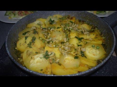 cuisson-à-la-poêle-au-pomme-de-terre-courgette-très-rapide-et-facile