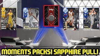 SAPPHIRE GIANNIS MOMENTS PACK OPENING! SAPPHIRE PULL! NBA 2K18 MYTEAM
