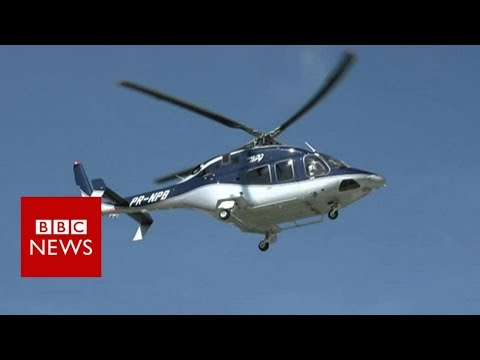 Have you ever ordered a helicopter taxi? - BBC News