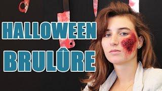 Réaliser un maquillage effet brûlure pour Halloween