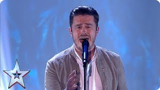 Singer Brian Gilligan takes everyone's breath away | Semi-Finals | BGT 2019