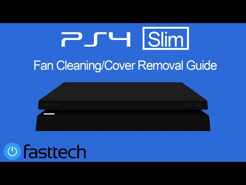 PS4 Fan Cleaning and Top Cover Removal (General Maintenance)