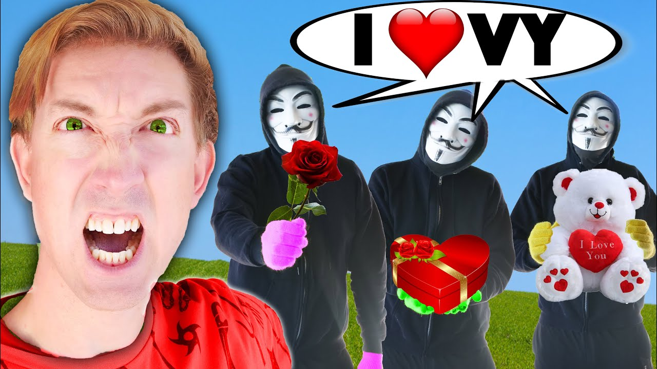 Which HACKER has a CRUSH on Vy Qwaint? CWC Undercover in Disguise for 24 Hours vs Ex Boyfriend