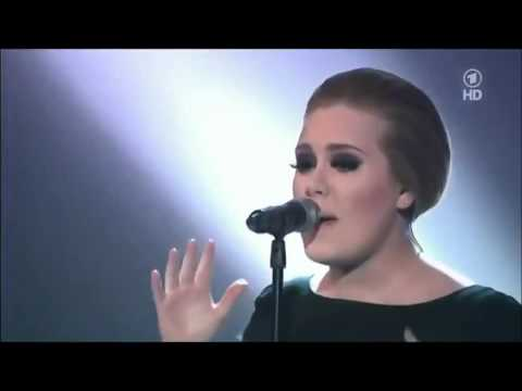 Adele (Bio in Description) - ROLLING IN THE DEEP - Live  HD (Lyrics in Comments)